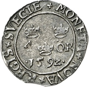4 Öre - Johann III – reverse