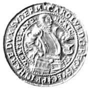 1 Daler - Karl as Duke of Södermanland – obverse