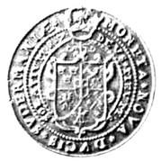 1 Daler - Karl as Duke of Södermanland – reverse