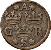 1 Fyrk - Gustav II Adolf (Arboga mint) – obverse