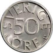 50 Öre - Carl XVI Gustaf -  reverse
