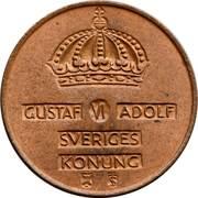2 Öre - Gustaf VI Adolf -  obverse