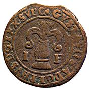 1 Fyrk - Gustav II Adolf (Säter mint) – obverse