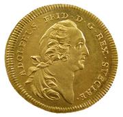 1 Dukat - Adolf Fredrik (Östra silverberget) – obverse