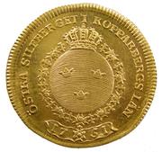 1 Dukat - Adolf Fredrik (Östra silverberget) – reverse