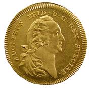 1 Dukat - Adolf Fredrik (Småland) – obverse