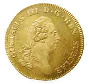 1 Dukat - Gustav III (Småland) – obverse