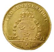 1 Dukat - Gustav III (Småland) – reverse