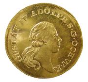 1 Dukat - Gustav IV Adolf (2nd portrait; Småland) – obverse