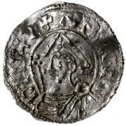 1 Denar - Anund Jacob (Sigtuna) – obverse