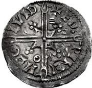 1 Denar - Olof Skötkonung / Imitating Æthelred II, 978-1016 (Sigtuna) – reverse
