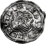 1 Denar - Olof Skötkonung / Imitating Cnut the Great, 1016-1035 (Sigtuna) – obverse