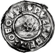 1 Denar - Olof Skötkonung / Imitating Cnut the Great, 1016-1035 (Sigtuna) – reverse
