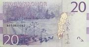 20 Kronor – reverse
