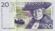 20 Kronor – obverse