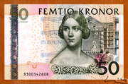 50 Kronor – obverse