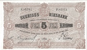 5 Kronor – obverse
