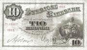 10 Kronor – obverse