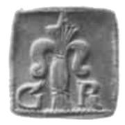 1 Fyrk - Gustav II Adolf (Säter or Nyköping Mint) – obverse