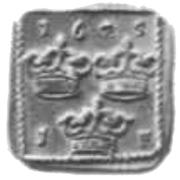 1 Fyrk - Gustav II Adolf (Säter or Nyköping Mint) – reverse