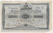 2 Riksdaler Banco / 3 Riksdaler Riksgäld – obverse