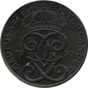 2 Öre - Gustaf V – obverse
