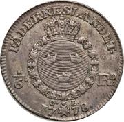 ⅙ Riksdaler - Gustav III -  reverse