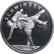 20 Francs (Swiss Wrestling) -  obverse