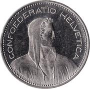 5 Francs (Copper-nickel) -  obverse
