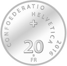 20 Francs (Brass Bands) – reverse