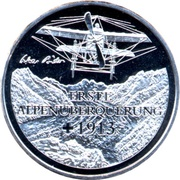 20 Francs (1st Transalpine Flight) -  obverse