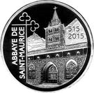 20 Francs  (Abbey of Saint-Maurice) – obverse