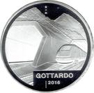 20 Francs (Gottardo tunnel) – obverse
