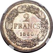 2 Francs (Pattern) – reverse