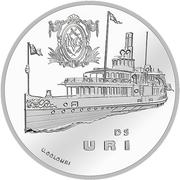 "20 Francs (Steamboat ""Uri"") -  reverse"