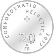 "20 Francs (Steamboat ""Uri"") -  obverse"