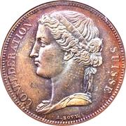 5 Francs (Pattern; piedfort; silver) – obverse