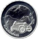 20 Francs (Swiss Alpine passes: Klausenpass) – reverse