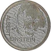 5 Francs (Einstein) -  obverse