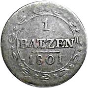 1 Batzen -  reverse