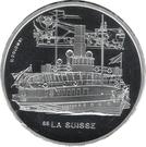 """20 Francs (Steamboat """"La Suisse"""") – reverse"""