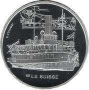 """20 Francs (Steamboat """"La Suisse"""") -  reverse"""