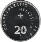 "20 Francs (Steamboat ""La Suisse"") – obverse"