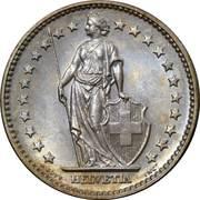 2 Francs -  obverse