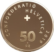 50 Francs (Crocodile locomotive) -  obverse