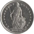 ½ Franc – obverse