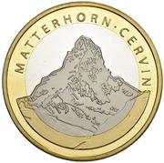 10 Francs (Matterhorn; trial) -  obverse