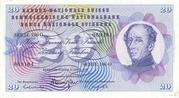 20 Francs (Henri Dufour) – obverse