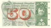 50 Francs (5th series, type 2) – obverse