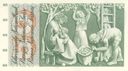 50 Francs (5th series, type 2) – reverse